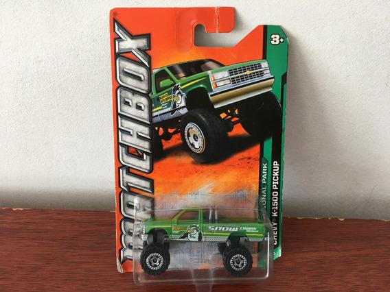 Mini Pickup Chevy K-1500 Da Matchbox Na Escala 1/64