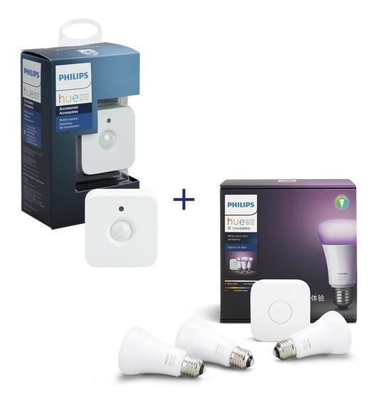 Philips Hue Kit De Inicio White And Colors Con Sensor Hue