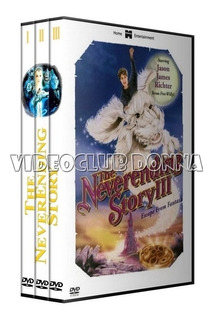 La Historia Sin Fin Neverending Story Interminable Saga Dvd
