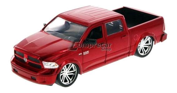Miniatura Ram 1500 2014 Vermelho Jada Toys 1/24
