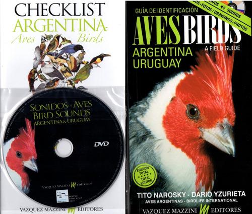 Aves De Argentina Y Uruguay Guía De Identificación Con Dvd