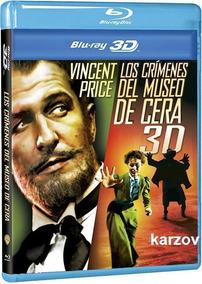 Los Crimenes Del Museo De Cera Pelicula En Blu-ray 3d + Br