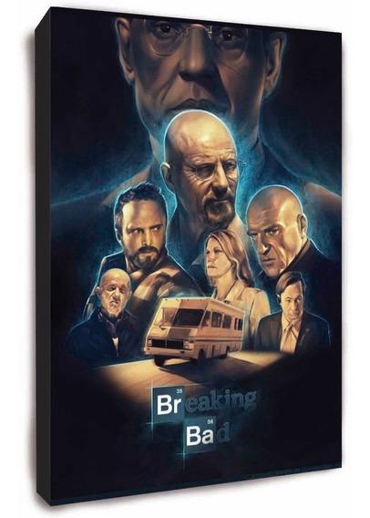 Serie Breaking Bad Cuadro Para Decorar. Todas Las Series