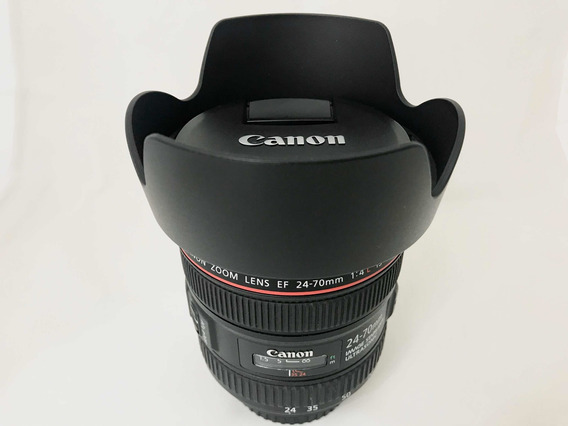 Lente Canon Ef 24-70 Mm F/4 L Is