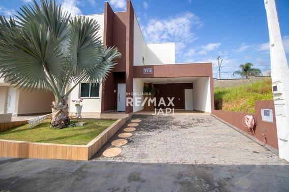 Casa À Venda, 245 M² Por R$ 990.000,00 - Quinta Das Atírias - Jundiaí/sp - Ca1868