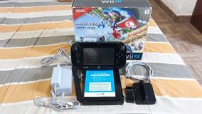 Wiiu 32gb Desbloqueado Com Jogos
