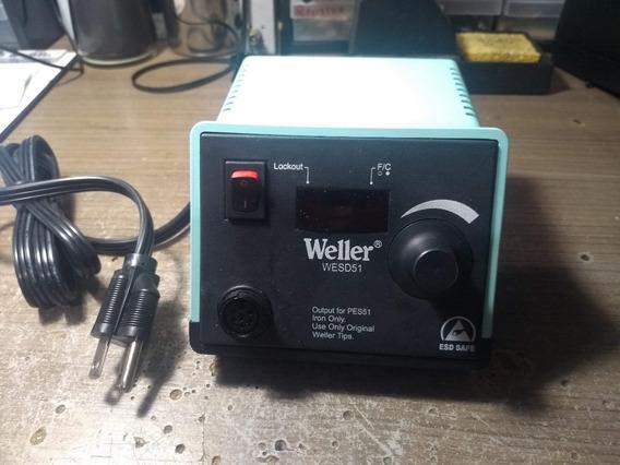 Estação De Solda Digital Wesd51d Weller