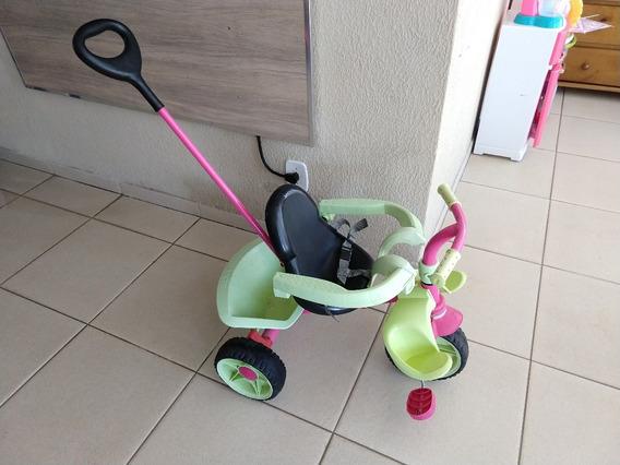 Triciclo Infantil Bandeirantes Smart Plus Pneus Borracha