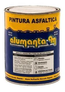 Pintura Asfaltica Secado Rapido X 1lt Alumanta