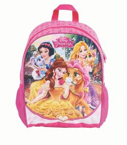Mochila De Costas Grande Princesas Glitter 37239 Dermiwil