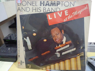 Lp Lionel Hampton And His Band - Live At The Muzeval