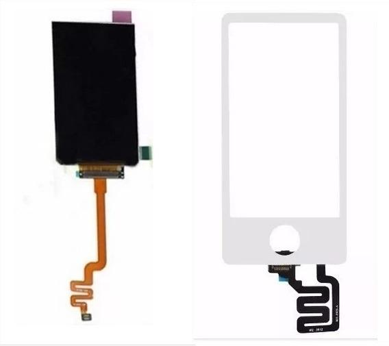 Tela Touch + Lcd Display Apple iPod Nano 7 Branco| Preto