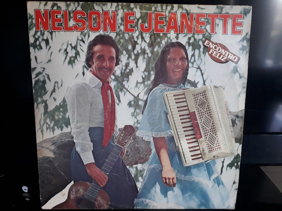 Lp Disco Nelson E Jeanette Encontro Feliz 1980 (raríssimo)