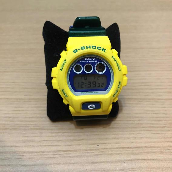 Relógio Casio G-shock - Verde E Amarelo