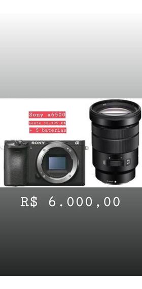 Sony A6500/18-205/5bateria