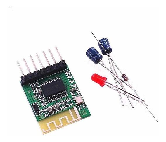 8x Módulo Receptor De Áudio Bluetooth