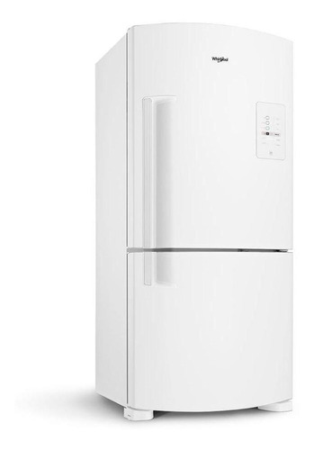 Heladera no frost Whirlpool WRE80 blanca con freezer 573L 220V