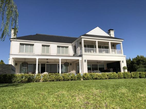 Lencke Vende - Excelente Residencia En Albanueva Con Amarra