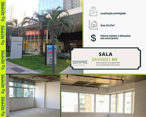 Imagem 1 de 29 de Salas À Venda, 24 M² - Savassi - Belo Horizonte/mg - Sa0126