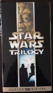 Star Wars Trilogía Vhs Año 2000, Excelentes Condiciones!