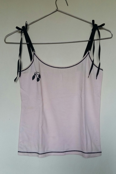 Camiseta Pijama Algodón Mujer Rosa Sweet Victorian