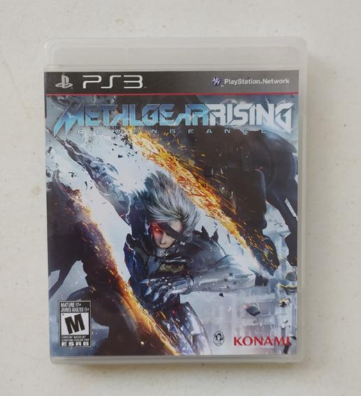 Jogo Metal Gear Rising Ps3 - Original - Mídia Física - Usado