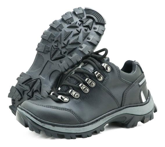 Tênis Adventure Em Couro Atron Shoes 269