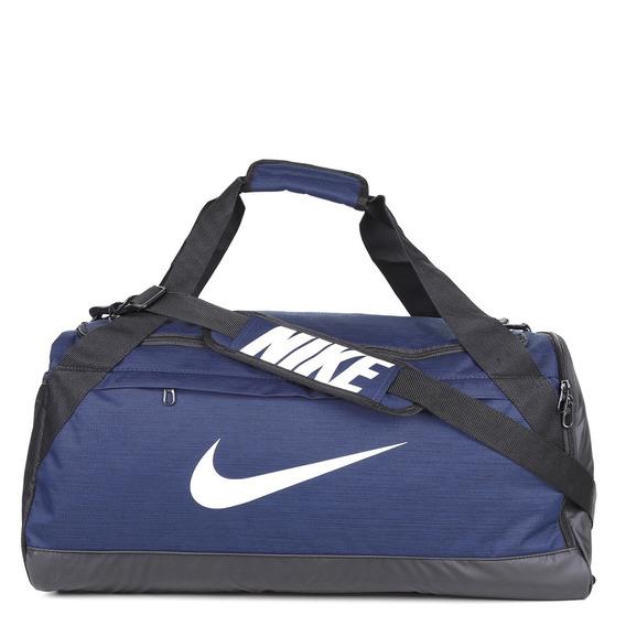 Mala Nike Brasília Média 61 L - Printed , Cinza, Azul, Preta