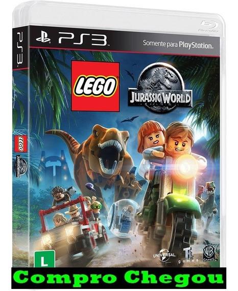 Lego Jurassic World Jogo Ps3 Psn Comprou Chegou Promoção