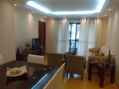 Apartamento Com 3 Dormitórios À Venda, 127 M²  - Vila Caminho Do Mar - São Bernardo Do Campo/sp - Ap0265