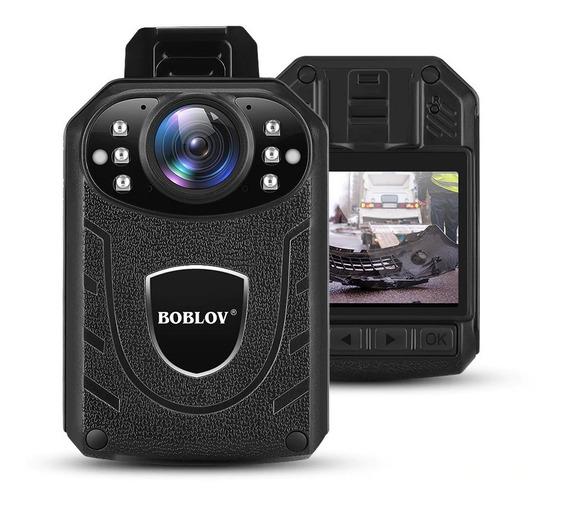 Câmera Filmadora Boblov Kj21 Hd 1269p Polícia Visão Noturna
