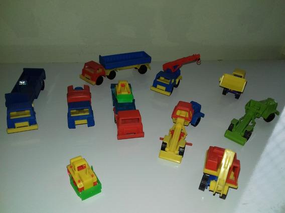 Miniatura Antiga Trator Caminhões Microplast Gulliver (lote