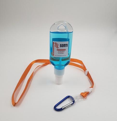 Imagen 1 de 3 de Botella Spray 60ml Con Lanyard