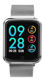 Smartwatch P68 Relógio Inteligente Pronto Entrega Promoção Novo Original Android Ios + Pulseira De Brinde