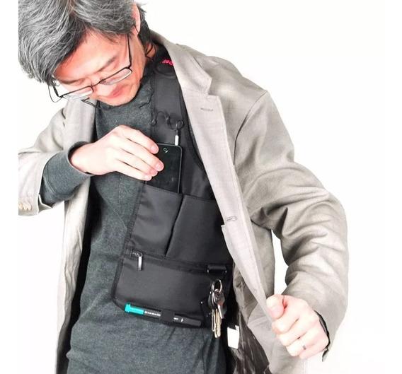 Chaleco Bolsa Oculta Secreta Viaje Seguridad Viajero M2158