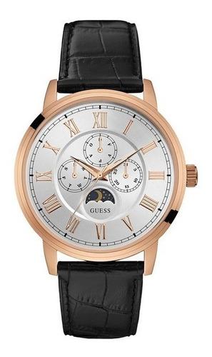 Relógio Guess 92617gpgdrc2 - Pulseira Couro Preto