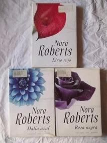 * 3 Livros - Nora Roberts - Trilogia Del Jardin Em Espanhol