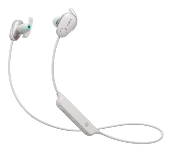 Fone De Ouvido Sony Wi-sp600 - Bluetooth - Branco