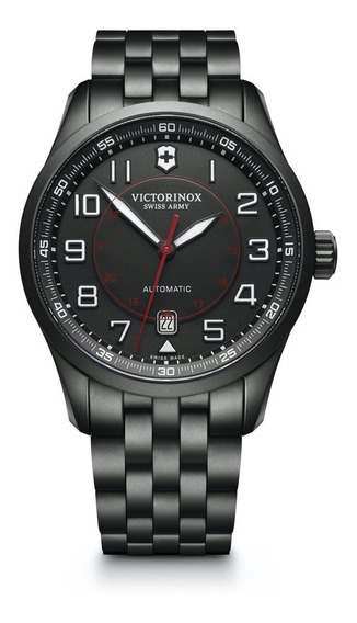 Relógio Victorinox Airboss Mechanical Black Edition - Novo