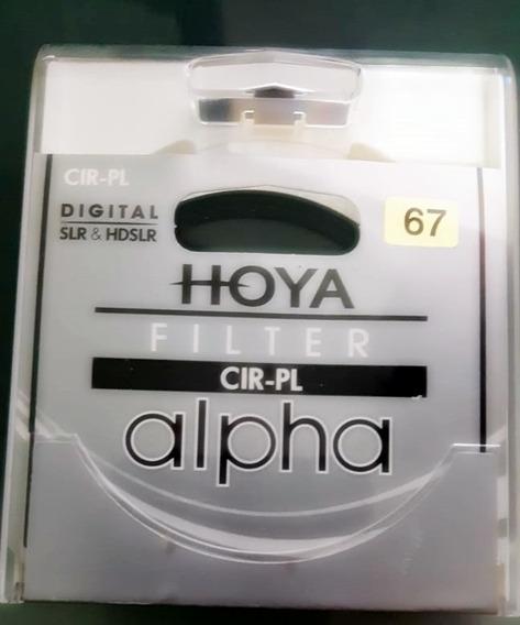Filtro Hoya Polarizador Circular - Cir-pl 67mm Slim