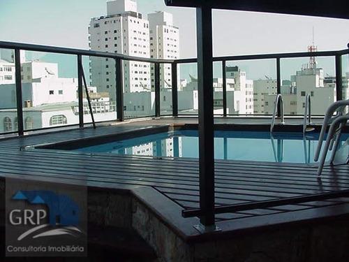 Imagem 1 de 15 de Cobertura Para Venda Em Guarujá, Pitangueiras, 4 Dormitórios, 1 Suíte, 5 Banheiros, 3 Vagas - 6076_1-1167899