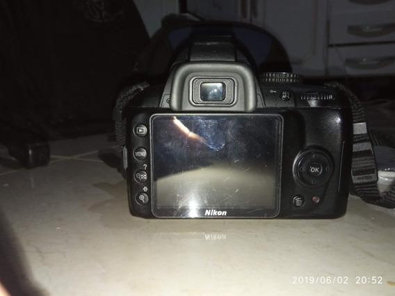 Câmera Nikon D3000 - Original. Só O Corpo Da Câmera.