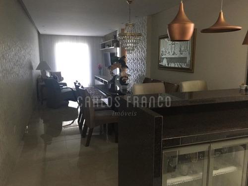 Imagem 1 de 15 de Apartamento 3 Dormitórios, 3 Vagas No Canto Do Forte-praia Grande - Cf68360