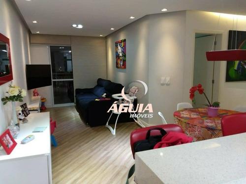 Apartamento Com 3 Dormitórios À Venda, 83 M² Por R$ 530.000,00 - Vila Baeta Neves - São Bernardo Do Campo/sp - Ap2294