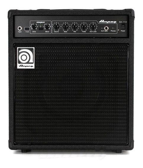 Amplificador Para Bajo Ampeg Ba-110v2 40w Rd Music