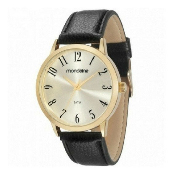 Relógio Masculino Mondaine Pulseira Couro 83286gpmvdh2