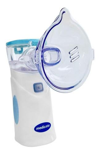 Nebulizador de rede Medicate MD4400 azul 100V/240V