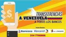Transferencias A Venezuela Para Distribuidores De Remesa
