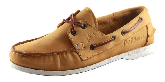 Zapatos Nauticos Mocasines Peskdores Oro 2019 Orom0089