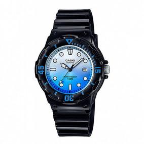 Relógio Casio Azul E Preto Lrw200h-2evcr Original